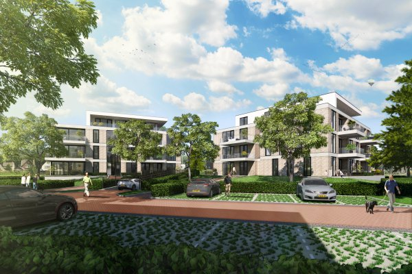 In aanbouw: 21 appartementen en 2 penthouses